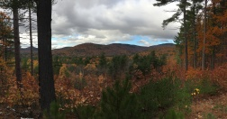 Peeking at part of the Belknap Range (Mt. Belknap far right, Piper Mountain in center, and I think that's Mt. Swett on the left - or maybe Whiteface).